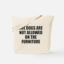 Dog Rules Tote Bag