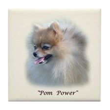 Pom Power Tile Coaster