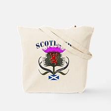 Scottish Canadian Thistle Tote Bag