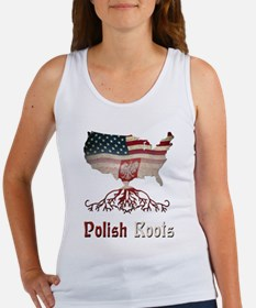 American Polish Roots Women's Tank Top