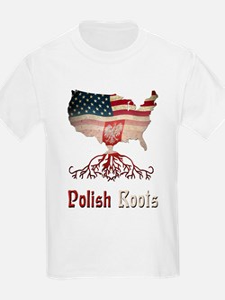 American Polish Roots T-Shirt