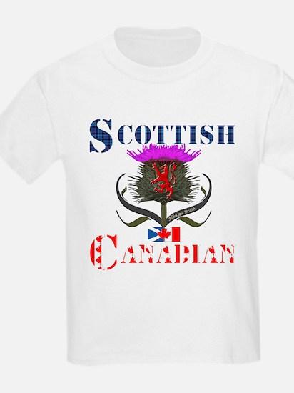 Scottish Canadian Thistle T-Shirt