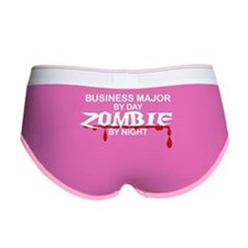 Business Major Zombie Women's Boy Brief
