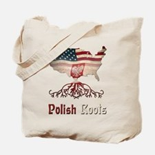 American Polish Roots Tote Bag