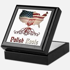 American Polish Roots Keepsake Box