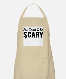 Eat Drink & Be Scary Apron