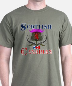 Scottish Canadian Thistle T-Shirt