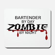 Bartender Zombie Mousepad