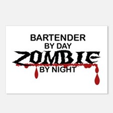 Bartender Zombie Postcards (Package of 8)