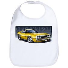 67 Yellow Camaro Bib