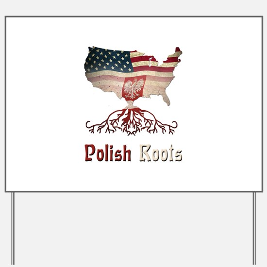 American Polish Roots Yard Sign