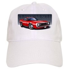 67 Red Camaro Baseball Cap