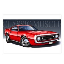 67 Red Camaro Postcards (Package of 8)