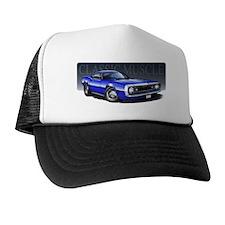 67 Blue W Trucker Hat