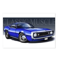 67 Blue W Postcards (Package of 8)