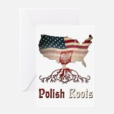 American Polish Roots Greeting Card