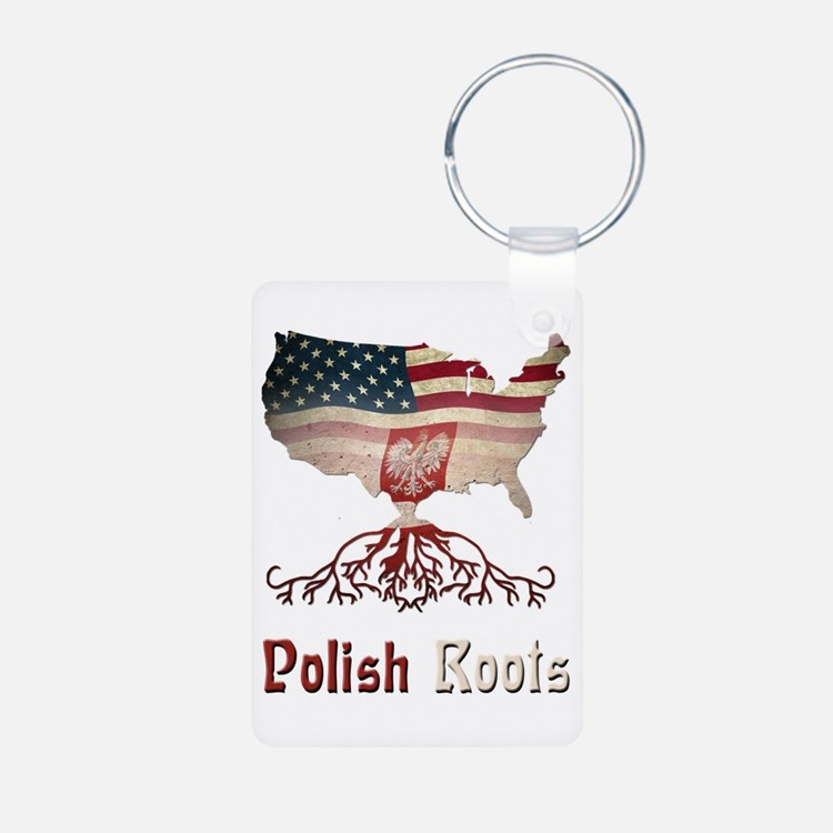 American Polish Roots Keychains