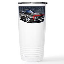 67 Black Camaro R Travel Coffee Mug