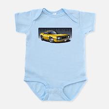 67 Yellow B Infant Bodysuit