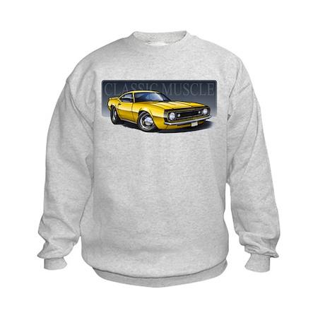 67 Yellow B Kids Sweatshirt