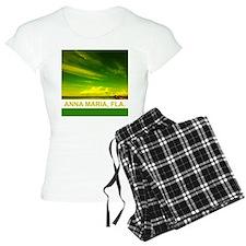 Green-yellow pier Pajamas