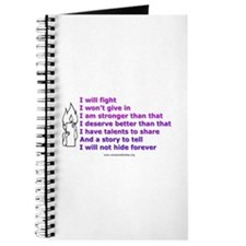 Eating Disorders Affirmation Journal (Unlined)