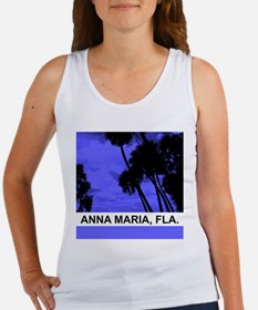 Purple palm trees Women's Tank Top