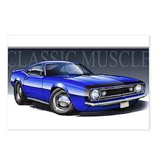 67 Blue Camaro B Postcards (Package of 8)