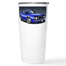 67 Blue Camaro B Travel Mug