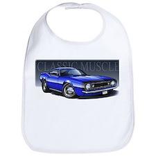 67 Blue Camaro B Bib