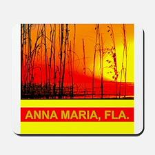 Red sea oats on Anna Maria Island Mousepad