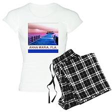Pink and blue Rod & Reel Pier Pajamas