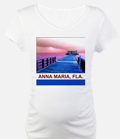 Pink and blue Rod & Reel Pier Shirt