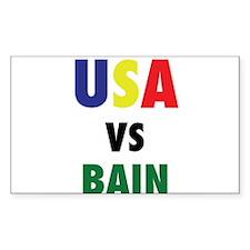 USA VS. BAIN Decal