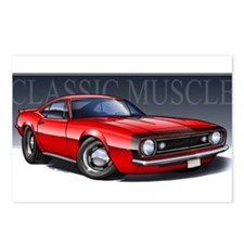 67 Red Camaro B Postcards (Package of 8)