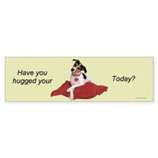 Have you Hugged? Bumper Car Sticker