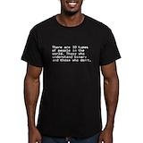 Binary Fitted T-shirts (Dark)