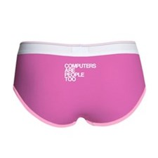 Computers Are People Too Women's Boy Brief
