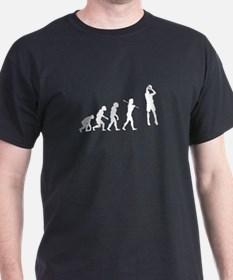Evolved To Ball - Basketball T-Shirt