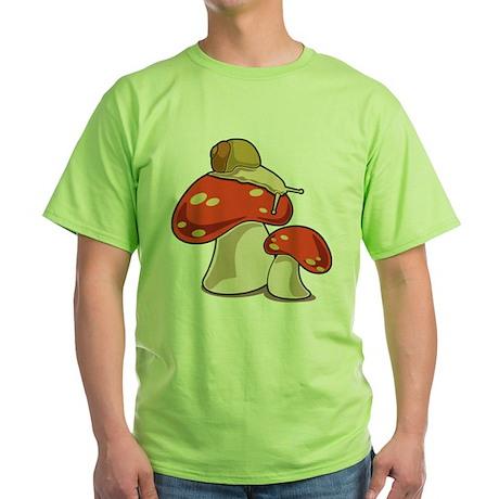 Snail Green T-Shirt