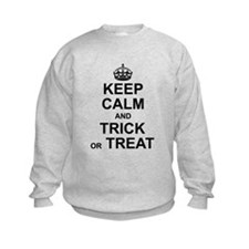 Keep Calm - Trick or Treat Sweatshirt