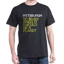 Pittsburgh PLANET, vintage, T-Shirt