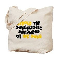 Swagness of Swag T-shirt Tote Bag