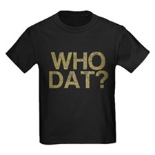 WHO DAT?, Vintage, T