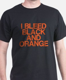 I Bleed Black and Orange T-Shirt