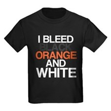 I Bleed Black and Orange T