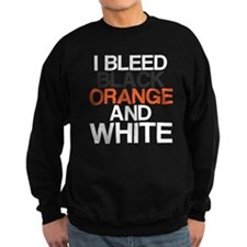 I Bleed Black and Orange Sweatshirt
