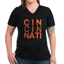 CINCINATI, Typography Shirt