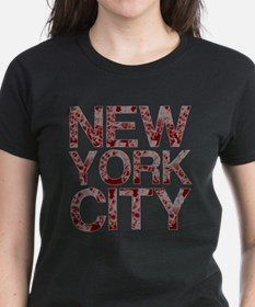 New York City, Aged Red, Tee