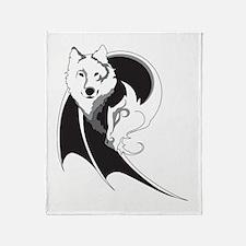Wolf & Dragon Throw Blanket